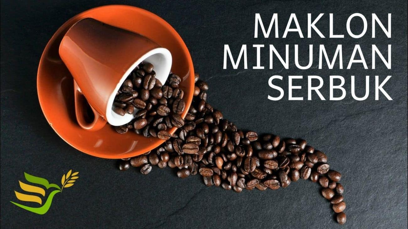 maklon minuman serbuk kopi
