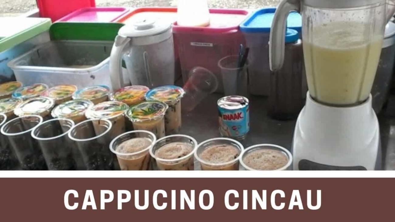 Cappucino Cincau Franchise, Resep & Perlengkapan Usaha untuk Jualan