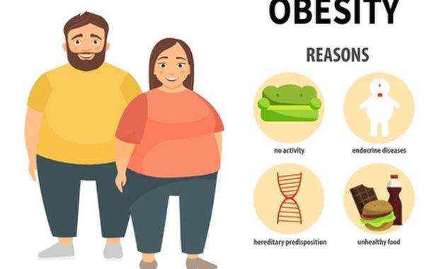 Penyebab Kegemukan Badan (Obesitas) pada Pria & Wanita